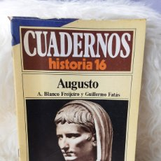 Coleccionismo de Revista Historia 16: REVISTA CUADERNOS DE HISTORIA 16- NUMERO 252- AUGUSTO. Lote 262906705