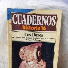 Coleccionismo de Revista Historia 16: REVISTA CUADERNOS HISTORIA 16- NUMERO 42- LOS IBEROS. Lote 262908295