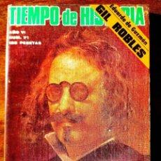 Coleccionismo de Revista Historia 16: TIEMPO DE HISTORIA, NÚM. 71. Lote 263582935