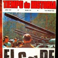 Coleccionismo de Revista Historia 16: TIEMPO DE HISTORIA, NÚM. 89. Lote 263583680