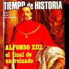 Coleccionismo de Revista Historia 16: TIEMPO DE HISTORIA, NÚM. 76. Lote 263583825