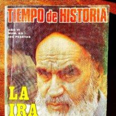 Coleccionismo de Revista Historia 16: TIEMPO DE HISTORIA, NÚM. 63. Lote 263584970