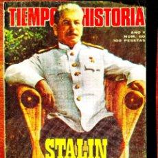 Coleccionismo de Revista Historia 16: TIEMPO DE HISTORIA, NÚM. 60. Lote 263586505
