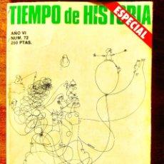 Coleccionismo de Revista Historia 16: TIEMPO DE HISTORIA, NÚM. 72. Lote 263586790