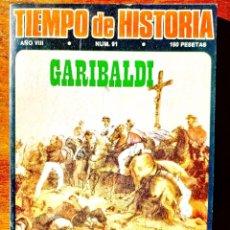 Coleccionismo de Revista Historia 16: TIEMPO DE HISTORIA, NÚM. 91. Lote 263588035