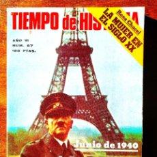 Coleccionismo de Revista Historia 16: TIEMPO DE HISTORIA, NÚM. 67. Lote 263588160