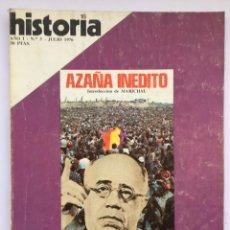 Coleccionismo de Revista Historia 16: HISTORIA 16 - NÚMERO 3 - JULIO 1976. Lote 267742429