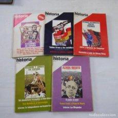 Coleccionismo de Revista Historia 16: LOTE 5 REVISTAS HISTORIA 16 - AÑO II N.º 3, 4, 8, 10 + EXTRA II. Lote 267776559