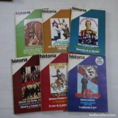 Coleccionismo de Revista Historia 16: LOTE 6 REVISTAS HISTORIA 16 - AÑO II N.º 1, 2, 5, 6, 9 + EXTRA I. Lote 267776919
