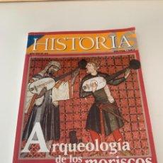 Coleccionismo de Revista Historia 16: HISTORIA 16- AÑO XXV NUM. 301 MAYO 2001 - ARQUEOLOGIA DE LOS MORISCOS. Lote 267800109