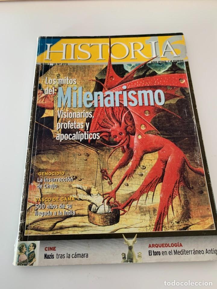 HISTORIA 16- AÑO XXIII NUM. 273 ENERO 1999 - LOS MITOS DEL MILENARISMO , VISIONARIOS, PROFETAS (Coleccionismo - Revistas y Periódicos Modernos (a partir de 1.940) - Revista Historia 16)