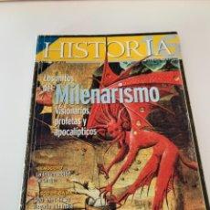Coleccionismo de Revista Historia 16: HISTORIA 16- AÑO XXIII NUM. 273 ENERO 1999 - LOS MITOS DEL MILENARISMO , VISIONARIOS, PROFETAS. Lote 267800664