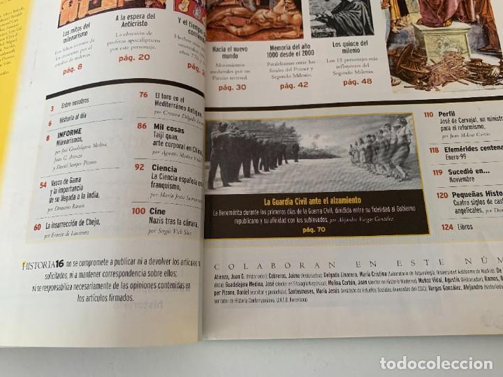 Coleccionismo de Revista Historia 16: Historia 16- AÑO XXIII NUM. 273 ENERO 1999 - Los mitos del milenarismo , visionarios, profetas - Foto 3 - 267800664