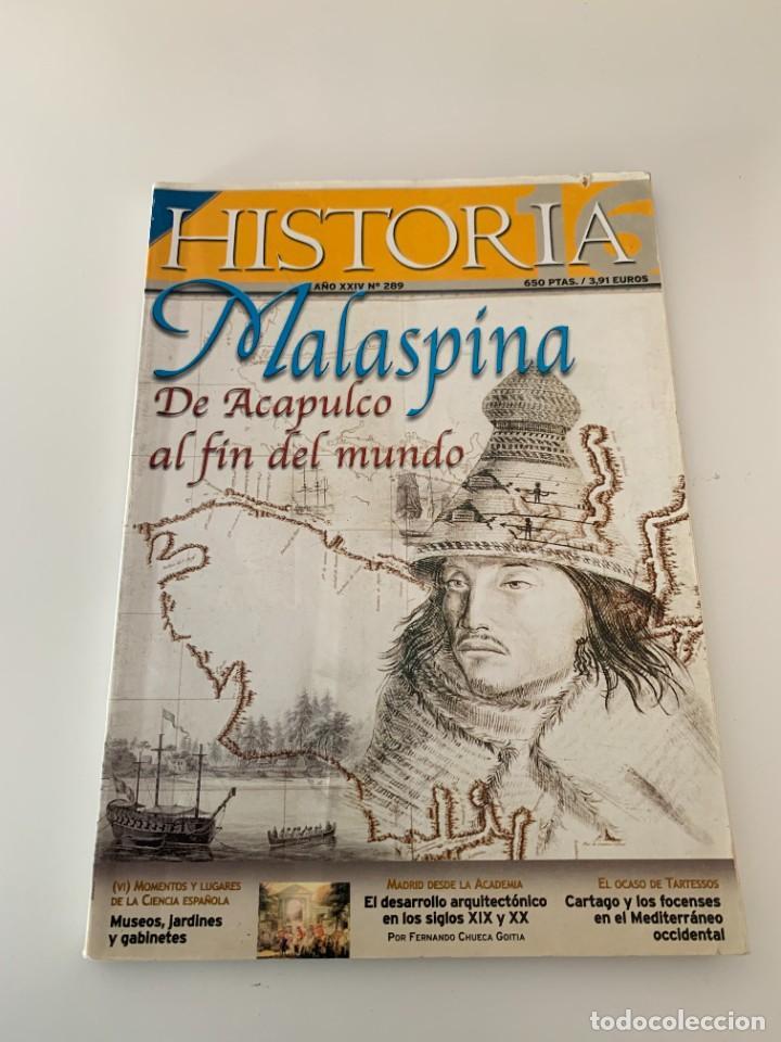 HISTORIA 16- Nº 289–MAYO 2000 - MALASPINA DE ACAPULCO AL FIN DEL MUNDO (Coleccionismo - Revistas y Periódicos Modernos (a partir de 1.940) - Revista Historia 16)