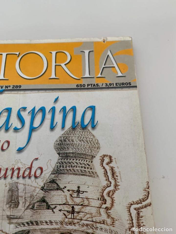 Coleccionismo de Revista Historia 16: Historia 16- Nº 289–MAYO 2000 - Malaspina de Acapulco al fin del mundo - Foto 2 - 267801114