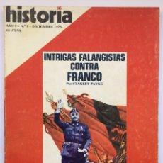 Coleccionismo de Revista Historia 16: HISTORIA 16 - NÚMERO 8 - DICIEMBRE 1976. Lote 268447329
