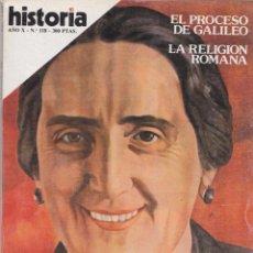 Coleccionismo de Revista Historia 16: HISTORIA 16, Nº 118 – PASIONARIA LA VERDAD DE DOLORES IBARRURI. Lote 269782998