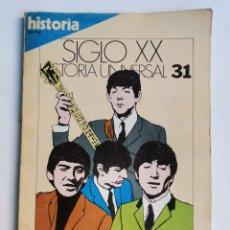 Coleccionismo de Revista Historia 16: SIGLO XX HISTORIA UNIVERSAL 31 LA DÉCADA PRODIGIOSA. Lote 270656598