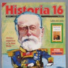 Coleccionismo de Revista Historia 16: REVISTA HISTORIA. 16 Nº 233. DERROTA EN CUBA. Lote 270693393