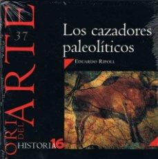 Coleccionismo de Revista Historia 16: HISTORIA DEL ARTE Nº 37. LOS CAZADORES PALEOLÍTICOS. HISTORIA 16 - EDUARDO RIPOLL (PRECINTADO). Lote 279433883