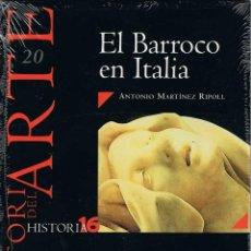 Coleccionismo de Revista Historia 16: HISTORIA DEL ARTE Nº 20. EL BARROCO EN ITALIA. HISTORIA 16 - ANTONIO MARTÍNEZ RIPOLL (PRECINTADO). Lote 279434198