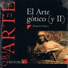 Coleccionismo de Revista Historia 16: HISTORIA DEL ARTE Nº 15. EL ARTE GÓTICO (Y II). HISTORIA 16 - JOAQUÍN YARZA (PRECINTADO). Lote 279441138