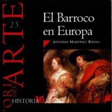 Coleccionismo de Revista Historia 16: HISTORIA DEL ARTE Nº 25. EL BARROCO EN EUROPA. HISTORIA 16 - ANTONIO MARTÍNEZ RIPOLL. Lote 279441653