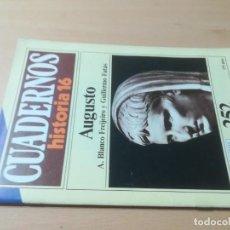 Coleccionismo de Revista Historia 16: CUADERNOS HISTORIA 16 / 252 AUGUSTO / A BLANCO, G FATAS / AJ16. Lote 279590148