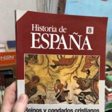 Coleccionismo de Revista Historia 16: HIATORIA DE ESPAÑA 8 - HISTORIA 16 - REINOS Y CONDADOS CRISTIANOS - DE D. PELAYO A JAIME I -. Lote 285687058