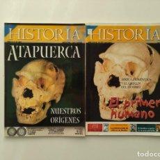 Coleccionismo de Revista Historia 16: LOTE 2 REVISTAS HISTORIA 16 Nº 267 Y 337: ATAPUERCA PRIMER HUMANO. Lote 288376648