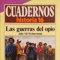 Coleccionismo de Revista Historia 16: LAS GUERRAS DEL OPIO - CUADERNOS HISTORIA 16, Nº 104. Lote 289600393