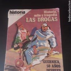 Coleccionismo de Revista Historia 16: REVISTA HISTORIA 16. AÑO XIII- N°133. HISTORIA, MITO Y TRAGEDIA. LAS DROGAS.. Lote 291578568