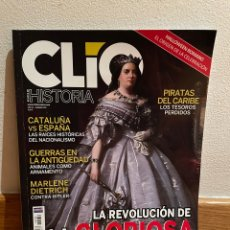 Coleccionismo de Revista Historia 16: CLÍO HISTORIA LA REVOLUCIÓN DE LA GLORIOSA NUMERO 239. Lote 292394808