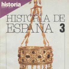 Coleccionismo de Revista Historia 16: HISTORIA 16. HISTORIA DE ESPAÑA 3. LA ALTA EDAD MEDIA. Lote 295445963