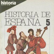 Coleccionismo de Revista Historia 16: HISTORIA 16. HISTORIA DE ESPAÑA 5. LA BAJA EDAD MEDIA. Lote 295446063