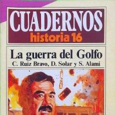 Coleccionismo de Revista Historia 16: LA GUERRA DEL GOLFO - CUADERNOS HISTORIA 16, Nº 298. Lote 295510798