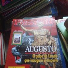 Coleccionismo de Revista Historia 16: HISTORIA 16 Nº 205, AUGUSTO, EL GOLPE DE ESTADO QUE INAUGURO EL IMPERIO. Lote 295610903