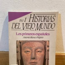 Coleccionismo de Revista Historia 16: HISTORIAS DEL VIEJO MUNDO LOS PRIMEROS ESPAÑOLES NÚMERO 1 HISTORIA 16. Lote 296735153