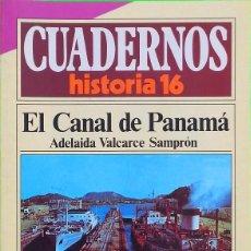 Coleccionismo de Revista Historia 16: EL CANAL DE PANAMÁ - CUADERNOS HISTORIA 16, Nº 195. Lote 297096908
