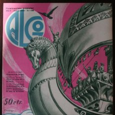 Coleccionismo de Revista Historia y Vida: ALGO, ILUSTRACIÓN POPULAR - AÑO V Nº 199, JUNIO 1933. Lote 9239847
