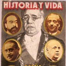 Coleccionismo de Revista Historia y Vida: REVISTA HISTORIA Y VIDA Nº 118 AÑO XI AZAÑA JUZGA A SUS MINISTROS POR LUIS ROMERO ED.GACETA ILUSTRAD. Lote 22673757