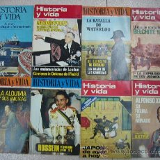 Coleccionismo de Revista Historia y Vida: HISTORIA Y VIDA LOTE Nº3 - 12 EJEMPLARES. . Lote 26993571