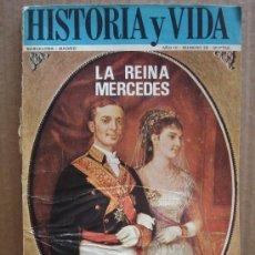 Coleccionismo de Revista Historia y Vida: REVISTA HISTORIA Y VIDA AÑO AÑO III Nº 26 - LA REINA MERCEDES - AÑO 1970. Lote 23473457