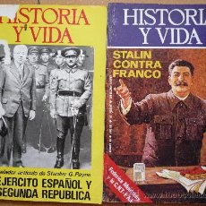 Coleccionismo de Revista Historia y Vida: LOTE DE 2 REVISTAS 'HISTORIA Y VIDA' N` 80, 90. ENTRE. 1974 Y 1975. . Lote 14297131