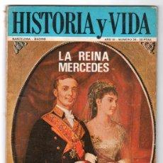 Coleccionismo de Revista Historia y Vida: REVISTA MENSUAL HISTORIA Y VIDA. AÑO III. Nº 26. MADRID BARCELONA MAYO DE 1970. Lote 15165505