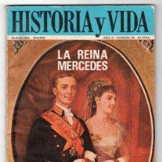 Coleccionismo de Revista Historia y Vida: REVISTA MENSUAL HISTORIA Y VIDA. AÑO III. Nº 26. MADRID BARCELONA MAYO DE 1970. Lote 15165506