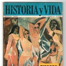Coleccionismo de Revista Historia y Vida: REVISTA MENSUAL HISTORIA Y VIDA. AÑO IV. Nº 45. MADRID BARCELONA DICIEMBRE DE 1971. Lote 15165537