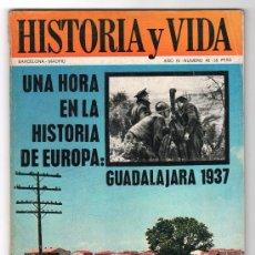 Coleccionismo de Revista Historia y Vida: REVISTA MENSUAL HISTORIA Y VIDA. AÑO IV. Nº 42. MADRID BARCELONA SEPTIEMBRE DE 1971. Lote 15165545