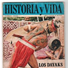 Coleccionismo de Revista Historia y Vida: REVISTA MENSUAL HISTORIA Y VIDA. AÑO IV. Nº 37. MADRID BARCELONA ABRIL DE 1971. Lote 15165550