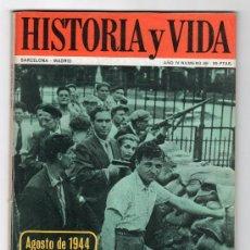 Coleccionismo de Revista Historia y Vida: REVISTA MENSUAL HISTORIA Y VIDA. AÑO IV. Nº 36. MADRID BARCELONA MARZO DE 1971. Lote 15165600